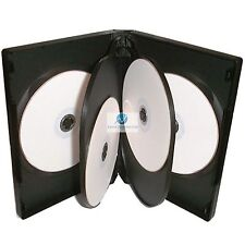 1 x 5 voie noir dvd 22mm colonne vertébrale détient 5 disques vide brand new replacement case