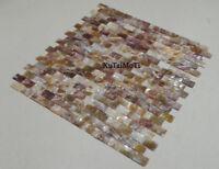 wholesale colorful shell mosaic tile bathroom kitchen backsplash pool wall tile