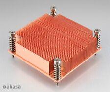 Akasa 1U de alto rendimiento enfriador de servidor de Cobre Pasivo AK-CC7111