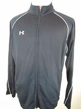 Under Armour Long Sleeve, Zipper Front Warm up Jacket, Men's size Medium