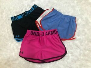UNDER ARMOUR & NIKE SHORTS GIRLS CLOTHES SIZE YOUTH MD