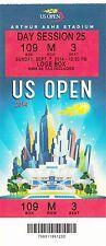 2014 US OPEN TENNIS SERENA WILLIAMS VS Caroline Wozniacki FINAL TICKET STUB 9/7