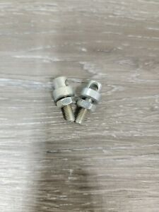 Vintage Bicycle Fender Stay Bolts and Nuts 2 Pc Set