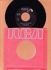 CHRISTMAS  ELVIS PRESLEY - MERRY CHRISTMAS BABY  45 RPM  RCA  UNPLAYED  1985