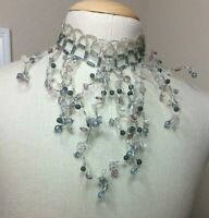 Jarmila Bijou Czech Crystal Statement Choker Necklace