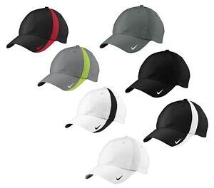 NIKE 247077 Mens Unstructured Sphere Dry Baseball Cap Golf Hat Dri-Fit  247077