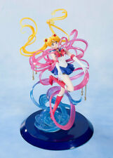 Anime Sailor Moon Tsukino Usagi Colorful Hairs Transform Figures Boxed Doll Toy