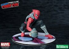 Rare Limited Kotobukiya MARVEL Spider-Man Winter Gear New York Comic-Con ArtFX