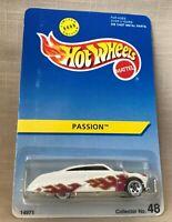 Hot Wheels #48 Mercury Passion White With Flames 1995 Mattel Ltd. Ed. 8,000 NRFP