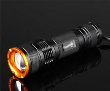 Mastiff Z3 Zoomable 3W 365nm Ultra-violet Radiation LED UV Lamp Flashlight Torch