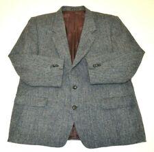 Mens Vintage Moores Harris Tweed Blazer Jacket Sz 46 - 48R Regular #E2021416