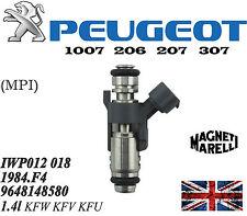 Petrol Fuel Injector Peugeot 1007 206 207 307 1.4 16v  1984F4 IPM018 IPM012 NEW