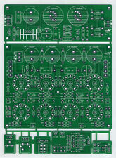 DIY Bare PCB for 6N1 + 6P1 stereo push-pull tube power amplifier Class AB 10W×2