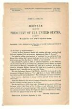 President Grover Cleveland Re: John S. Bryant Disability Pension Request
