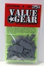 1/72 Allied Tank Bits Set #2 - Value Gear War Gaming Diorama - Brail Scale 72SH2