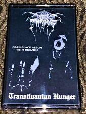 Darkthrone – Transilvanian Hunger Rare VG Cassette Tape Ukraine Bootleg Bargain