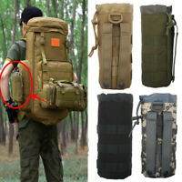 Tactical Molle Water Bottle Bag Belt Holder Military Outdoor Hiking Pouch Kettle