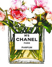 Chanel Roses For The Lady Pop Art Canvas 16 x 20    #3085