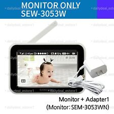 Samsung SEW-3053W BrightVIEW Baby Monitor (Monitor Only) **New Other**
