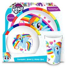 My Little Pony Rainbow 3- Piece Dinner Tableware set
