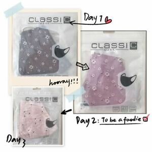 Washable Reusable Fashion flowers Face Mask double layer