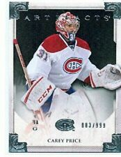 2013-14 Artifacts Silver #104 Carey Price 83/999!