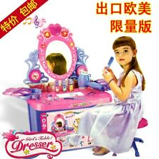 Girls Dressing Table With Stool and Mirror | Children's Vanity Table