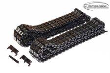 Metall Ketten SET LACKIERT 1:16 für Heng Long Torro Taigen Panzer Leopard 2 A6