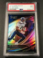DK METCALF 2019 PANINI SELECT #207 FIELD LEVEL SILVER PRIZM ROOKIE RC PSA 9