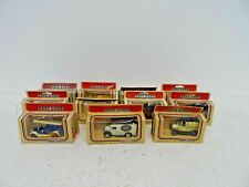 Job Lot of 11 x Vintage 1983 Models of Days Gone Diecast Cars by Lledo  D27