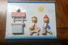 Vintage Jack and Jill Baby Nursery Rhymes Wall hanging