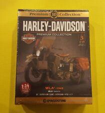 [BOOK+MODEL] Harley Davidson Premium Collection 3 WLA 1942 1/24 Japan Deagostini