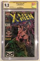 Uncanny X-Men #263 CGC 9.2 SS Chris Claremont 1990