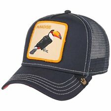 Goorin Animal Farm Trucker Baseball Hat Cap Toucan Tropic Bird Parrot Paradise