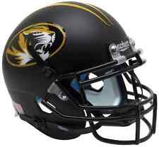 MISSOURI TIGERS NCAA Schutt XP Authentic MINI Football Helmet (MATTE BLACK)