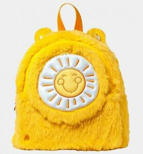 Official Yellow Care Bears Funshine Bear Mini Backpack from Danielle Nicole