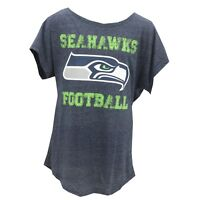 Seattle Seahawks Official NFL Apparel Teens Juniors Girls Size T-Shirt New Tags