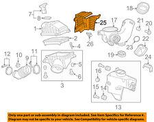 Acura HONDA OEM 10-13 MDX Air Cleaner Intake-Box Housing Cover Lid 17246RYEA10
