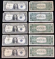 USA 1 Dollar 1957 B STAR NOTE Silver Certificate Schein 1 US $ Banknote aus Lot
