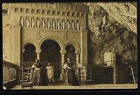 2713.-COVADONGA -Santuario en la Cueva (1912)