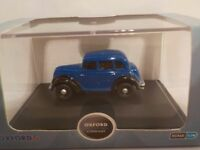Morris Eight, E Series, Blue , Model Cars, Oxford Diecast