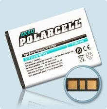 PolarCell Akku Sony Ericsson K750i W810i W800i K610i W350i Batterie Accu Acku