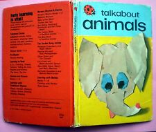 Talkabout Animals vintage Ladybird book farm babies cats early learning children