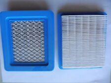 2 REPL BRIGGS & STRATTON AIR FILTER HONDA JOHN DEERE 399959 491588 AM116236 5043