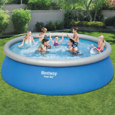 BESTWAY ROUND GARDEN SWIMMING POOL( 8ft、10ft、12ft)