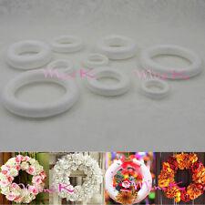Handmade Foam Ring Polystyrene Styrofoam DIY New Decorations Party Accessory