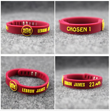 Lebron James King Chosen Silicone Adjustable Wristband NBA Bracelet