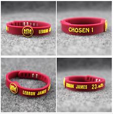 Lebron James King Chosen Silicone Adjustable Wristband NBA Bracelet