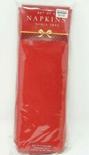 Noble Tree Napkins (Set of 4) - Ruby Red