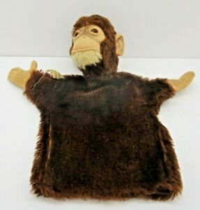 Stieff Monkey Ape Hand Puppet US Zone Germany